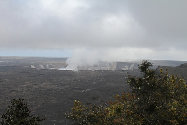 Halema'uma'u Crater Big Island, Hawaii
