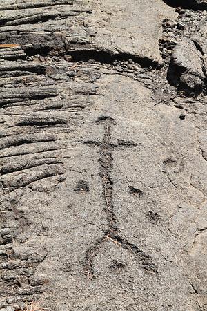 Petroglyphs Or Kii Pohaky