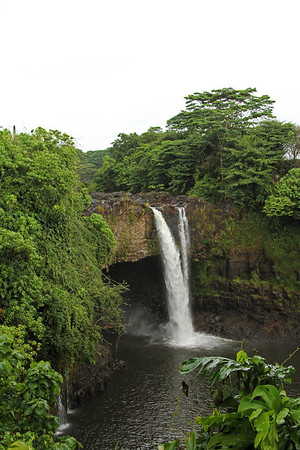 Rainbow Falls Hilo, Hawaii