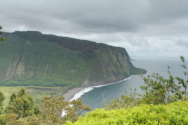 Waipio Valley Overlook, Big Island, Hawaii
