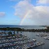 From our hotel room - Tim managed to catch the rainbow...simply amazing!