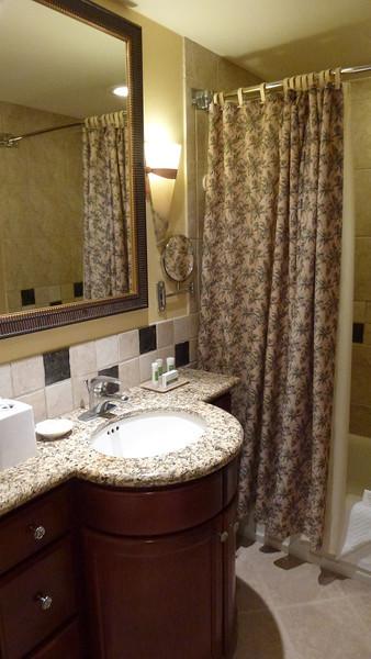Our villa bathroom