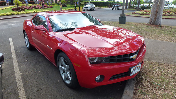 Our rental car.
