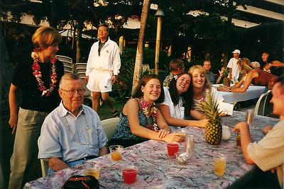 Christmas Day Luau in Hawaii    12/1998