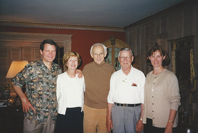 Bill, Chee, Uncle Rex, Dadd, Melanie at Uncle Rex's