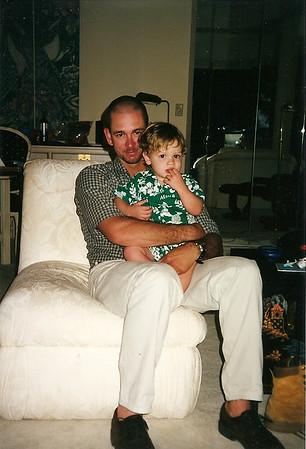 Chris & Caleb in Hawaii