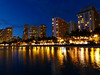 Waikiki Skyline at Night, Oahu, Hawaii