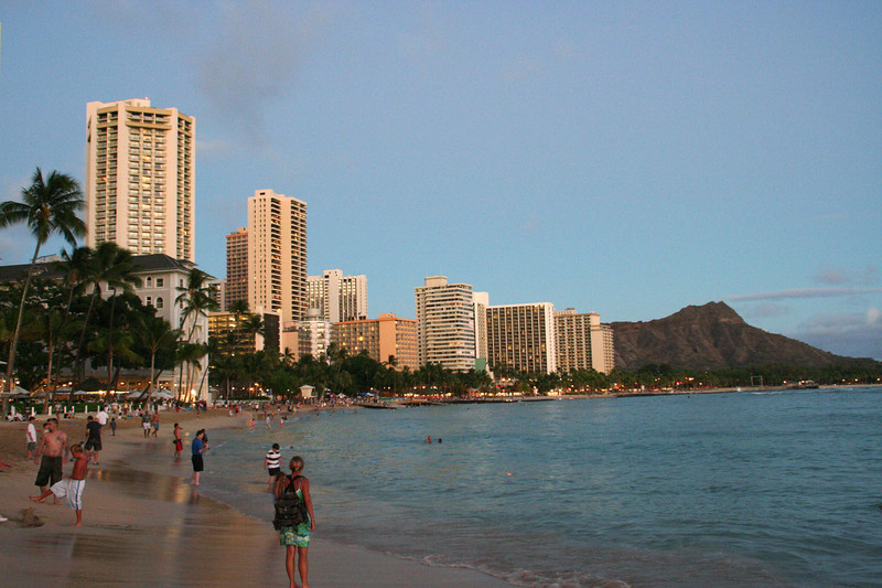 Wakiki Beach and Diamond Head