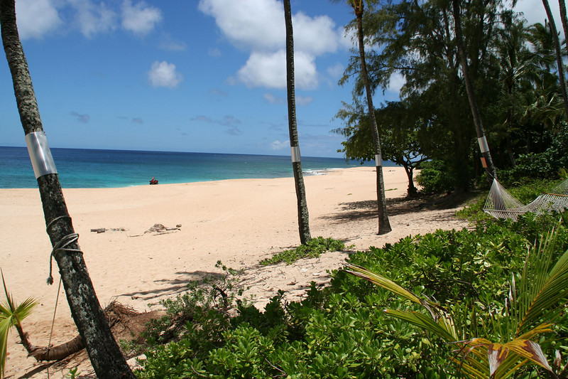 Our beach at Ke Iki, locally known as Log Cabin