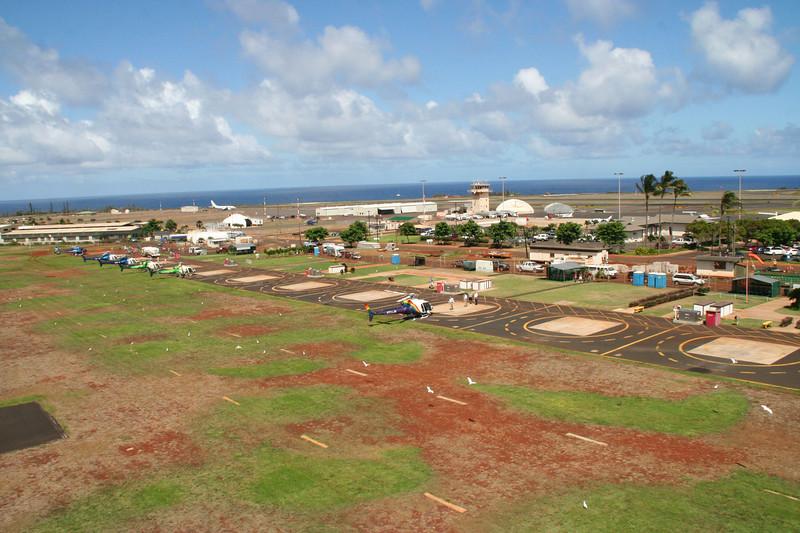 Heliport, Lihue, Kauai