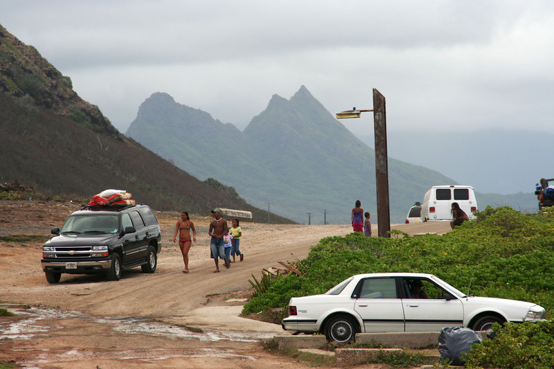 Makapu'u Beach Park, near the easternmost tip of Oahu