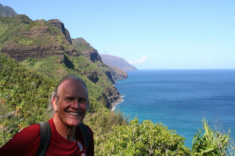 on the Kalalau trail