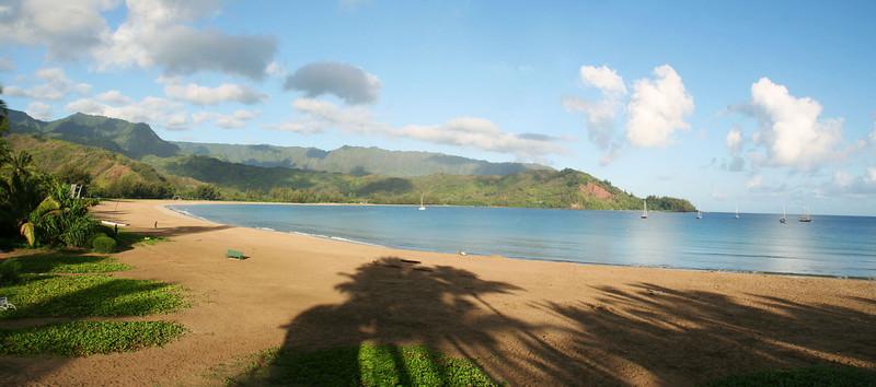 Hanalei Bay, early morning