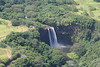 Wailua Falls, fed by Wai'ale'ale summit