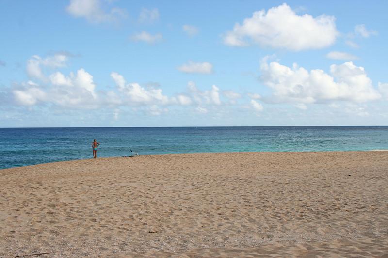 Our beach at Ke Iki bungalows