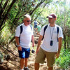 "On a hike up the mountain which the Hawaiian's called the ""sleeping giant""..."