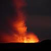Lava watching at night