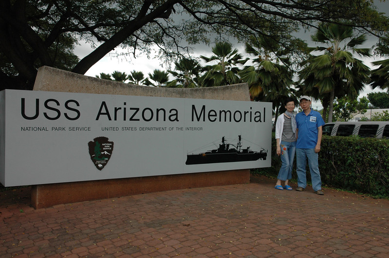 Pearl Harbor<br /> USS Arizona Memorial