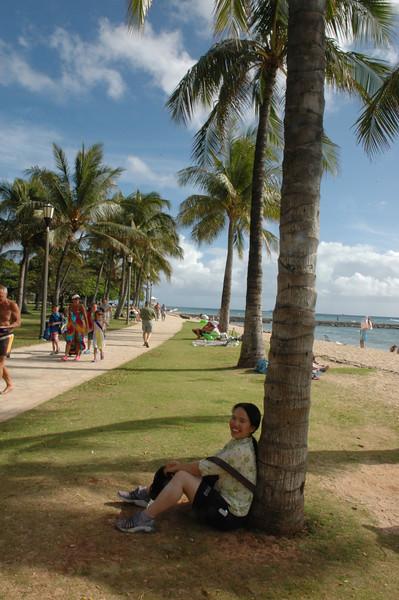 Beach Walk at Wakiki
