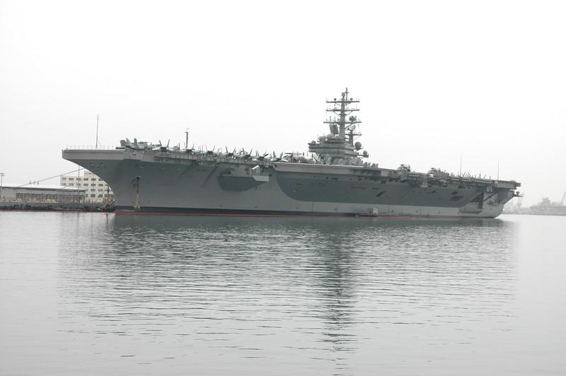 Pearl Harbor<br /> USS Ronald Reagan