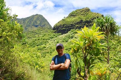 Groene pieken @ Nā Pali Coast State Park. Kaua'i, Hawaii, USA.