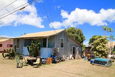 Hawaiian way of living. Kekaha, Kaua'i, Hawaii, USA.