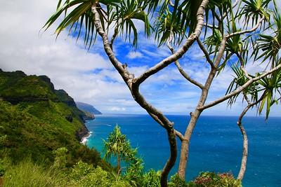 Nā Pali Coast State Park. Kaua'i, Hawaii, USA.