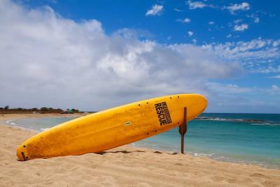 Salt Pond Beach.  Hanapepe, Kaua'i, Hawaii, USA.