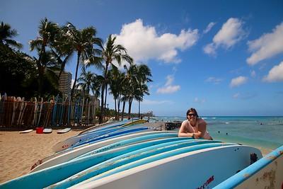 Surfers Paradise @ Waikiki Beach. Honolulu, O'ahu, Hawaii, USA.