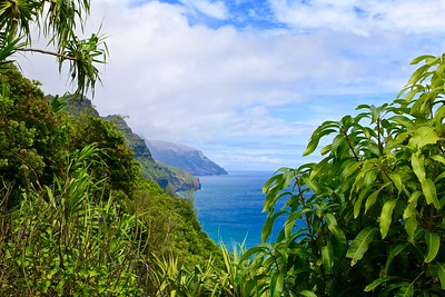 Doorkijkje  @ Nā Pali Coast State Park. Kaua'i, Hawaii, USA.