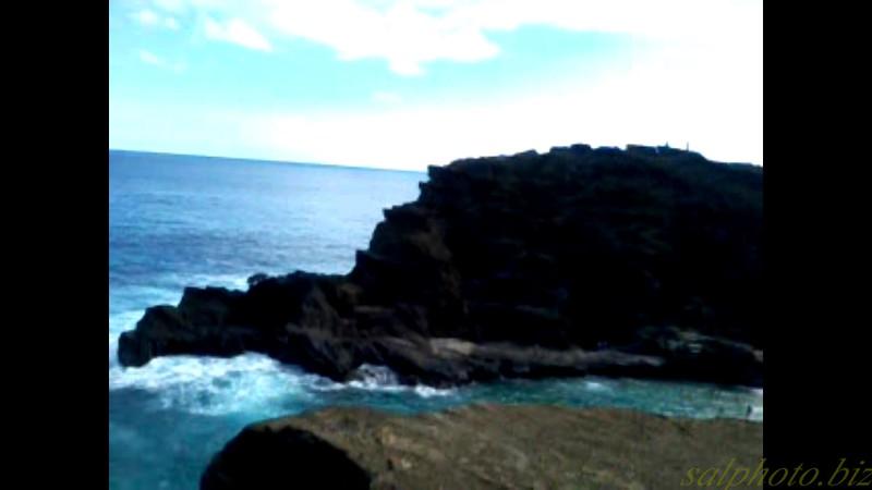 "Hawaii: Oahu's Halona Blowhole <br /> <a href=""https://youtu.be/X0pt689_OTQ"">https://youtu.be/X0pt689_OTQ</a>"