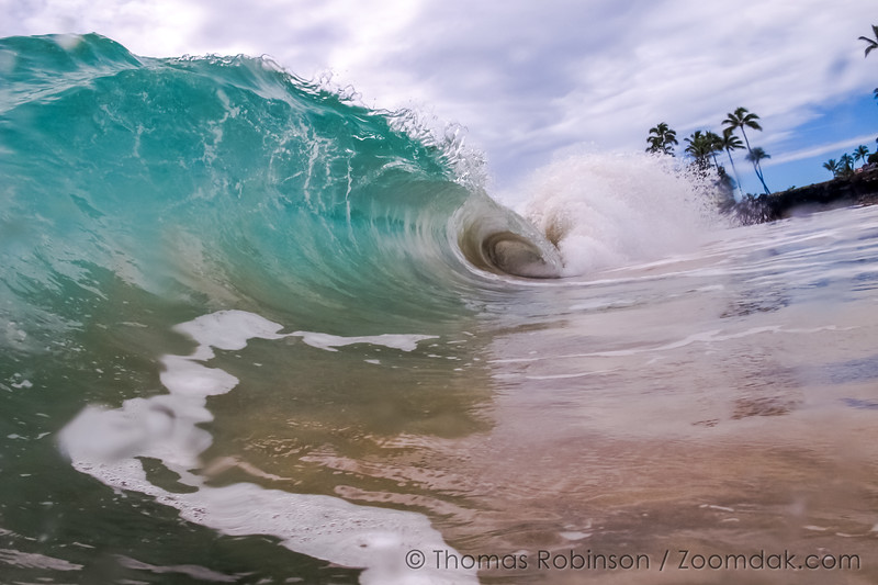 Kauai Beach Wave