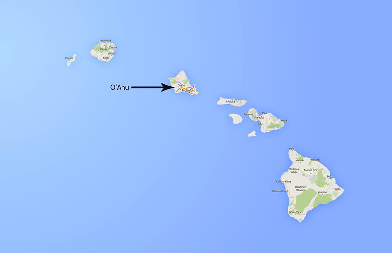 Jim and Beth visited Oahu Island, Hawaii, August 21 - 24, 2015.