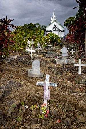 Kona, The Big Island, Hawaii, Coffee  Plantation, Painted Church, The City of Sanctuary.