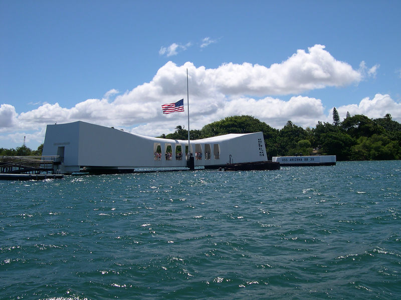 The U.S.S. Arizona Memorial