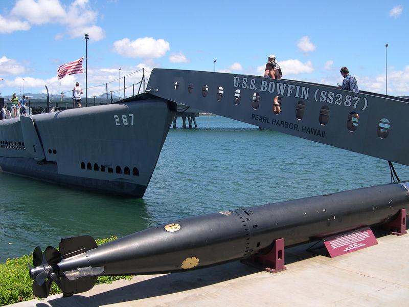 U.S.S. Bowfin, a WWII-era submarine