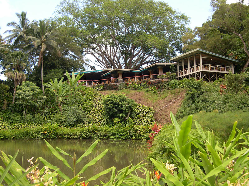 The Haiku Gardens Restaurant  - a favorite from my '72 trip to Oahu