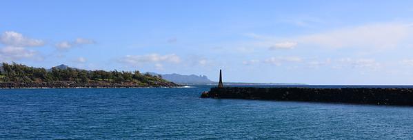 Movie view on Kauai.
