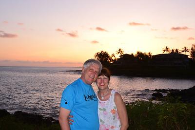 Sharyn & me on Kauai