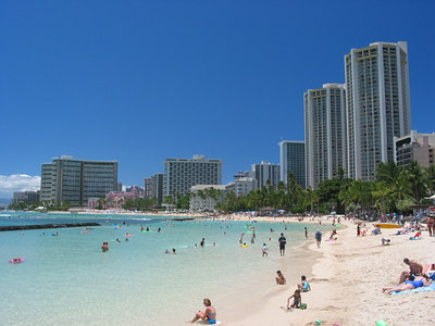 You guessed it...Waikiki.