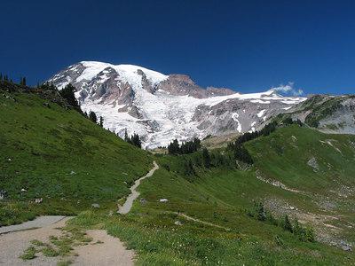 Mount Rainier, Washington, from Paradise.