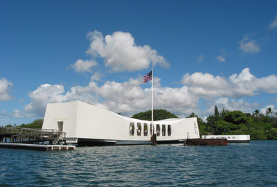 USS Arizona memorial, Pearl Harbour