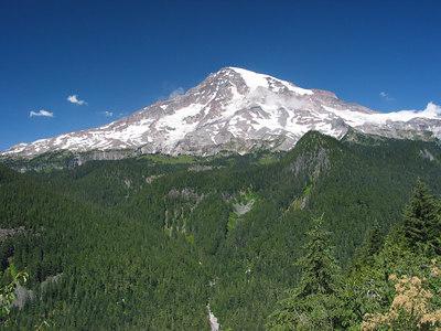 Mount Rainier, Washington.