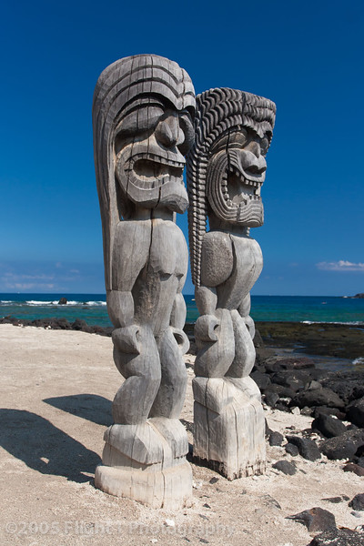Pu'uhonua a Honaunau, The Place of Refuge