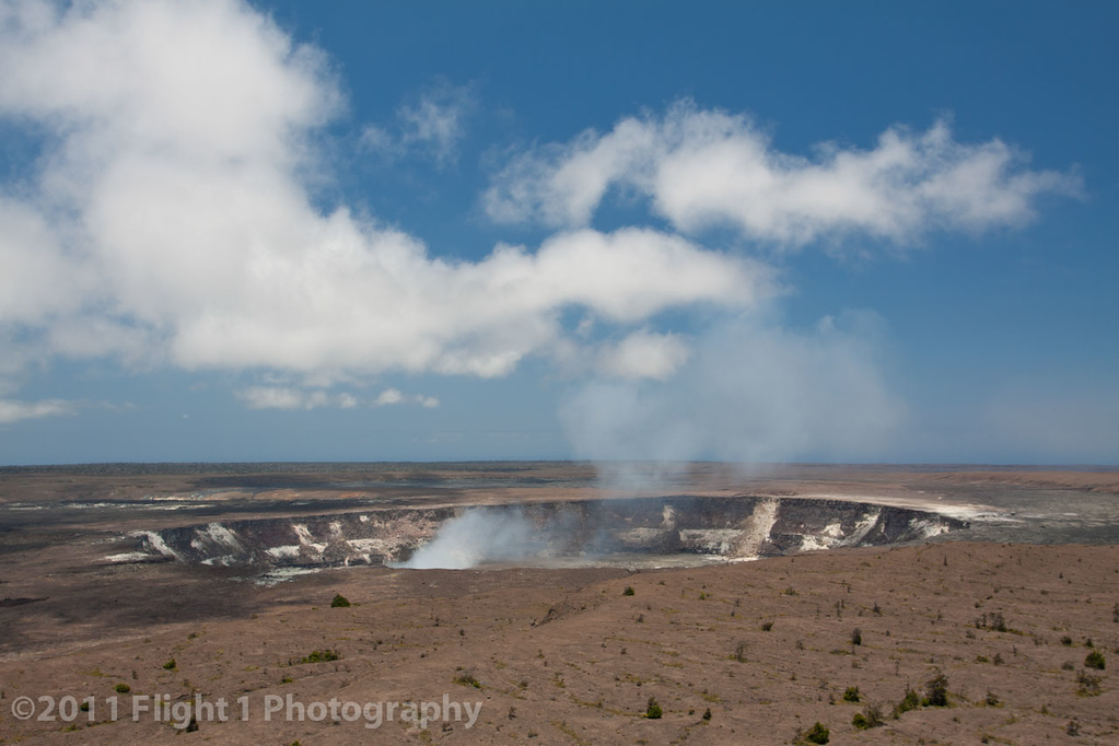 Halema'uma'u at Kilauea in Volcanoes National Park