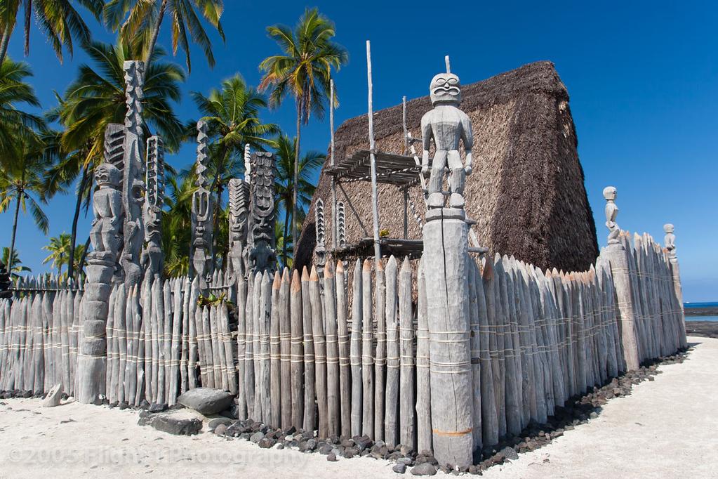 Pu'uhonua a Honaunau, The Place of Refuge