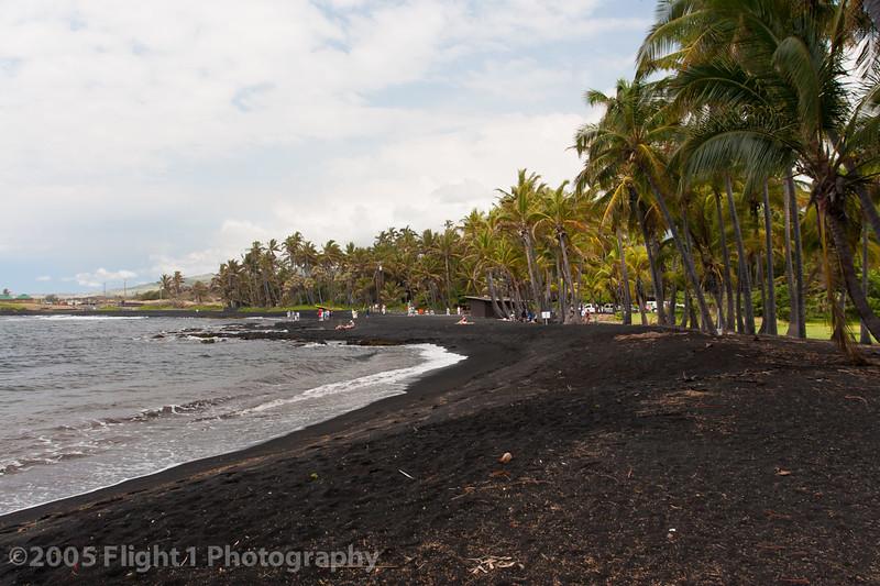 Punaluu'u Black Sand Beach