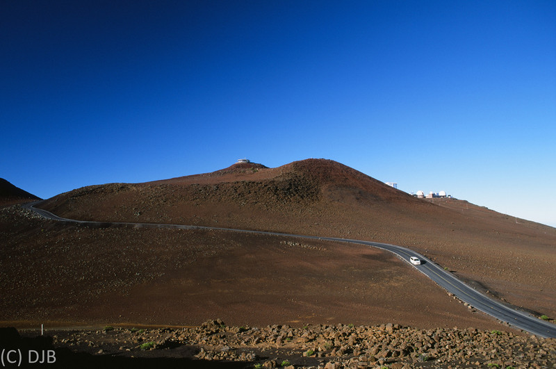 Haleakala National Park, Maui, HI. Shot on Fujichrome Velvia 50 slide film.  Image Copyright 2012 by DJB.  All RIghts Reserved.  Processing and scanning by North Coast Photo Services.