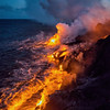 Nocturnal lava