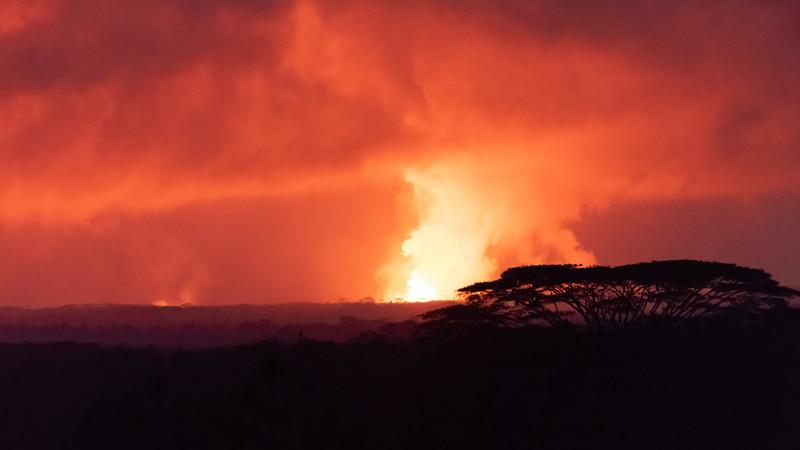 Volcano action!